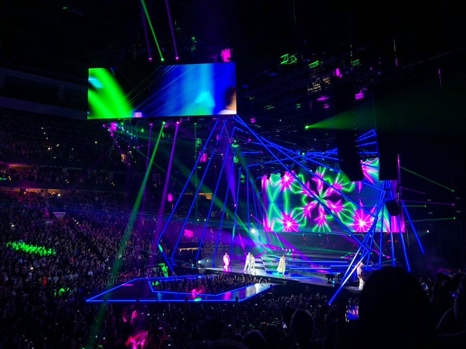 Backstreet Boys Concert 8