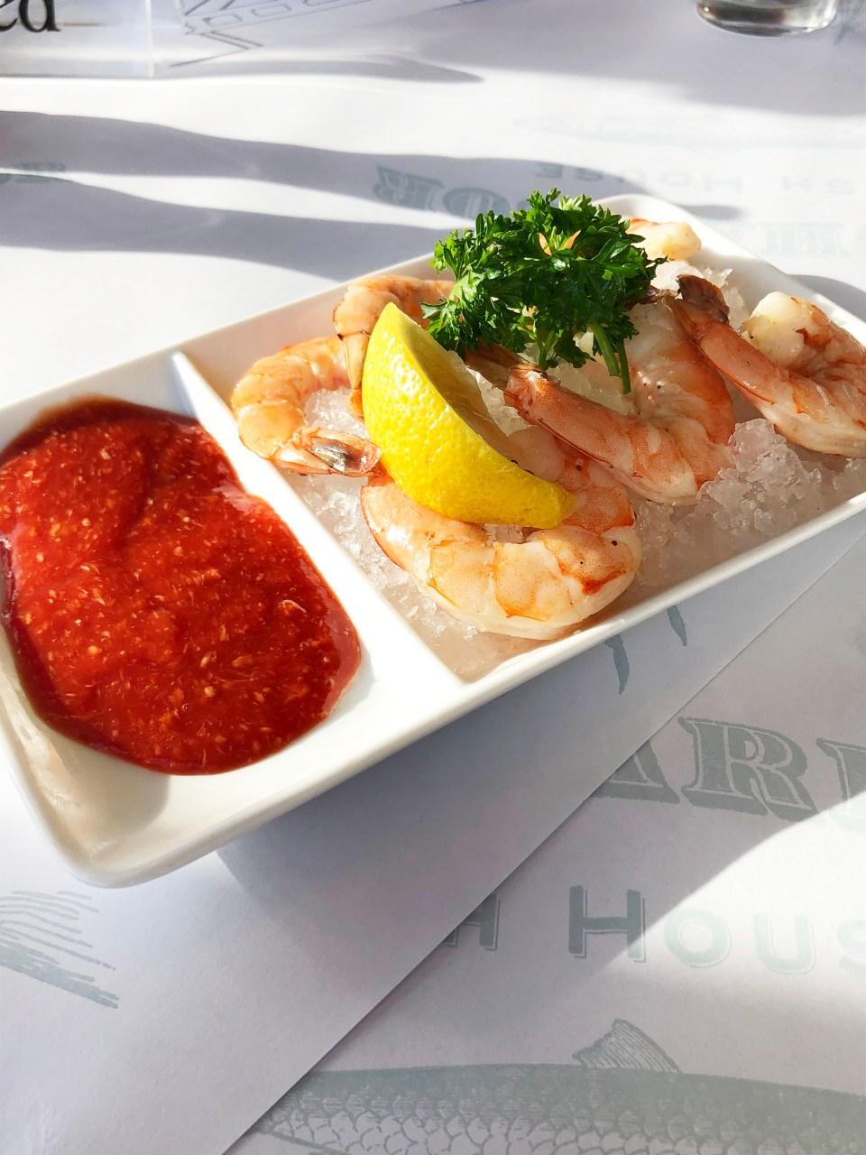 Fog Harbor - Shrimp Cocktail
