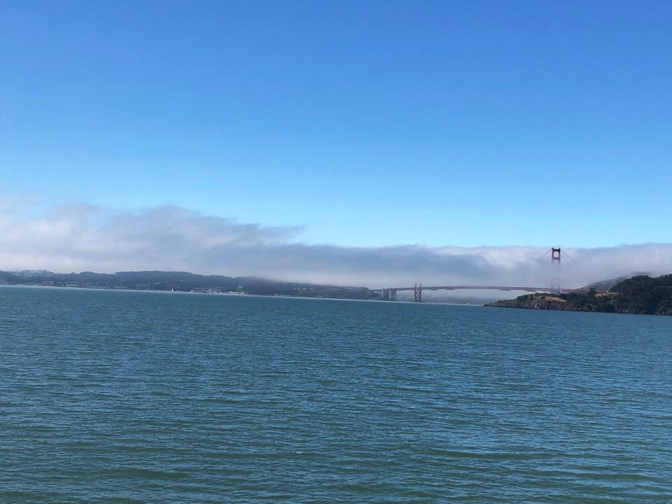 Foggy Golden Gate Bridge 1