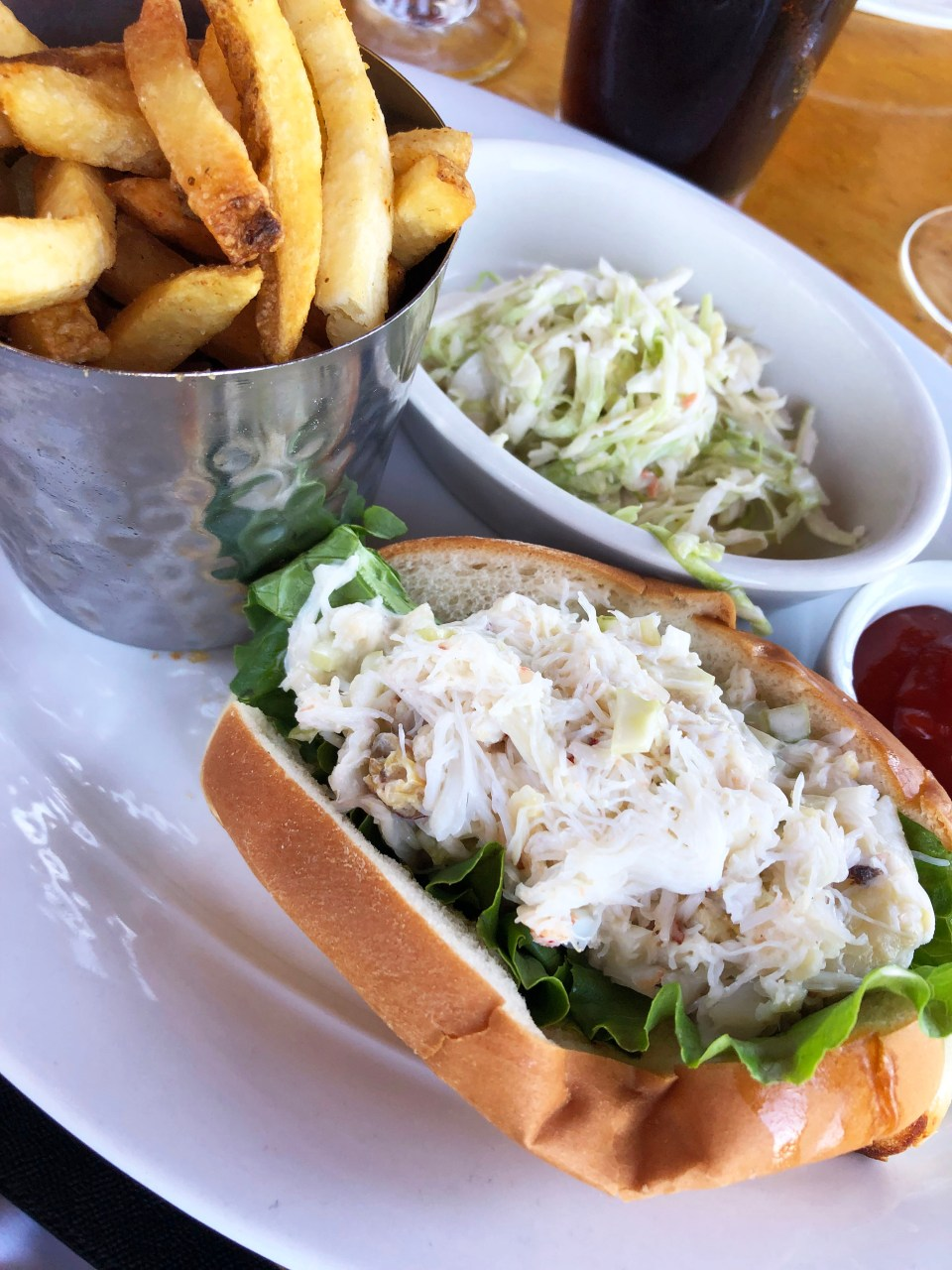 Seafood Peddler - Dungeness Crab Roll