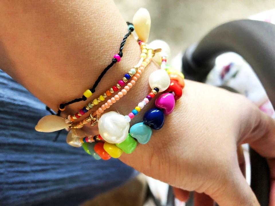 Summer Bracelet Stack 1