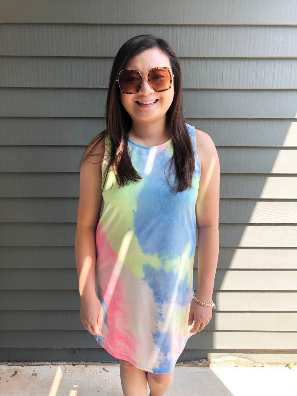 Tie Dye Dress 12