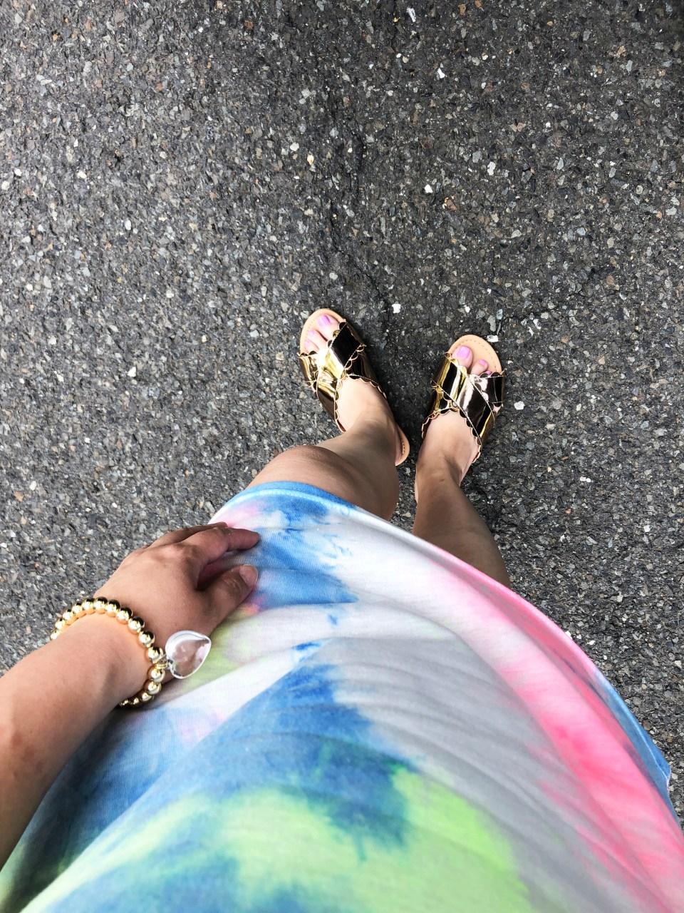 Tie Dye Dress 13