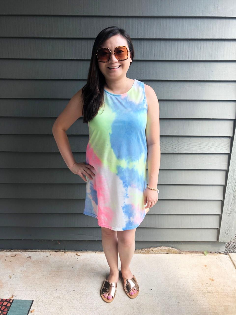 Tie Dye Dress 2