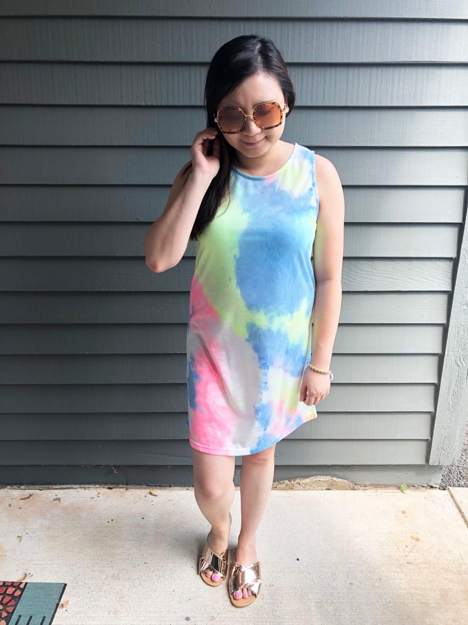 Tie Dye Dress 3