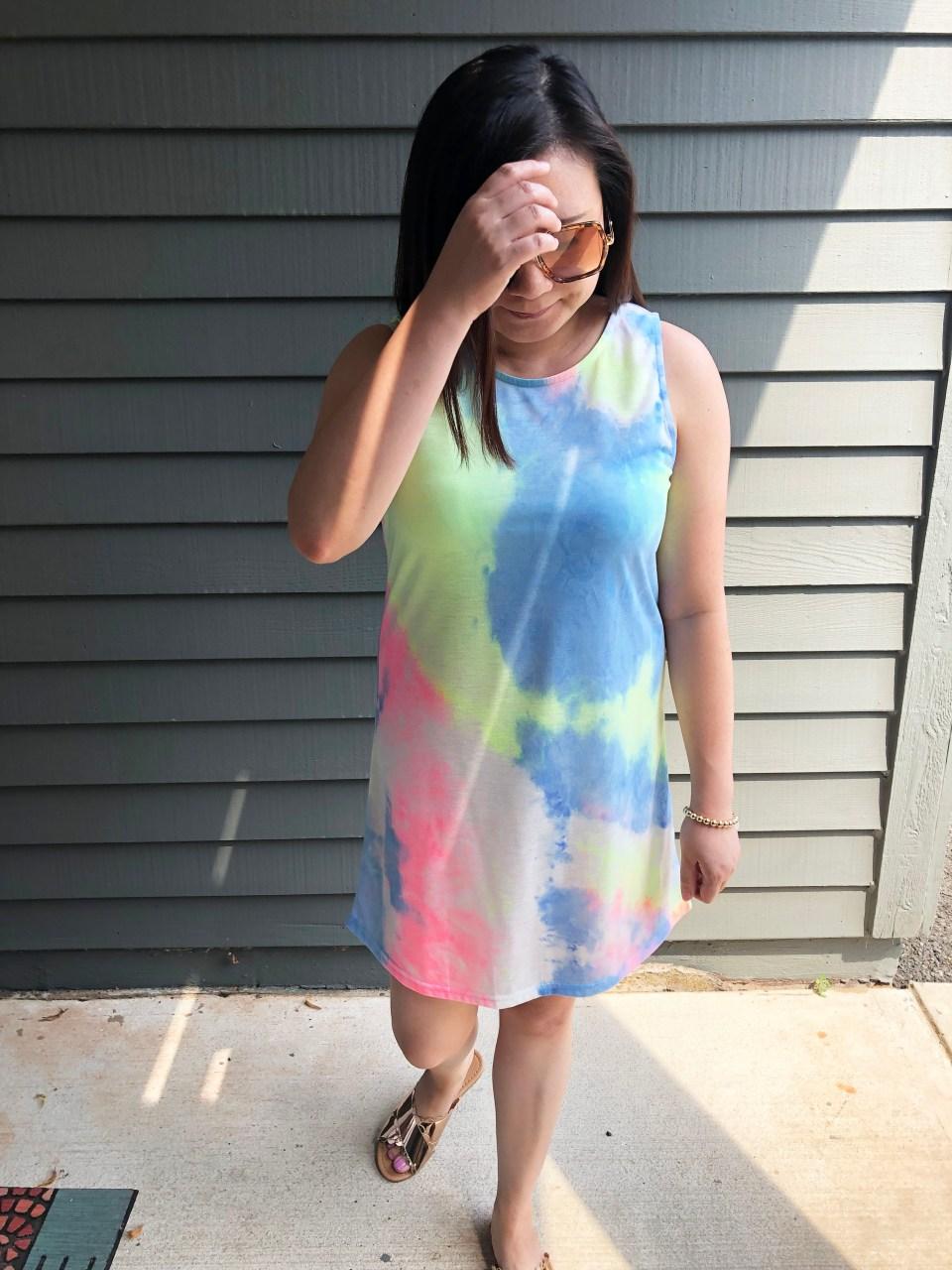 Tie Dye Dress 6