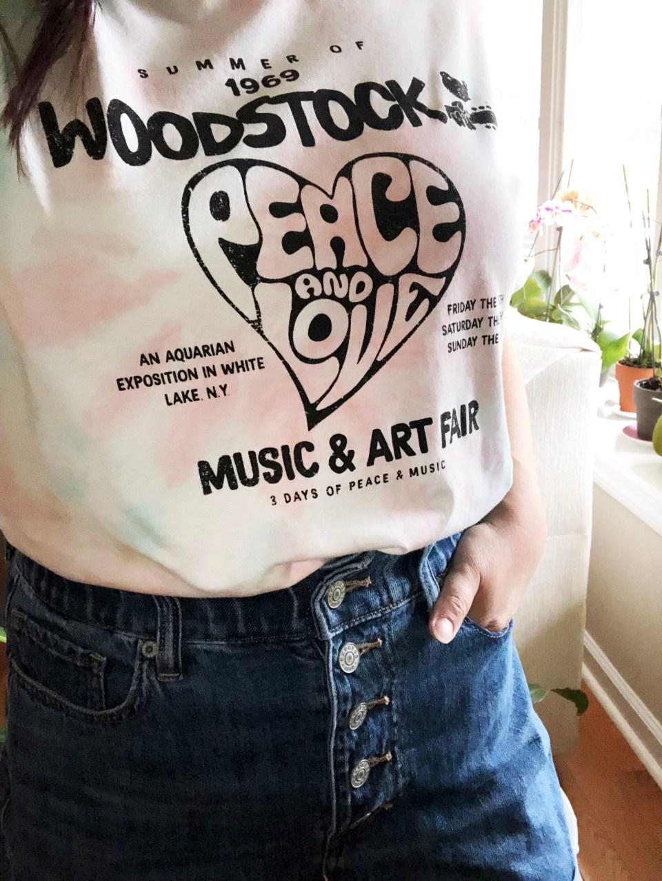 Woodstock Tie Dye Tee 13