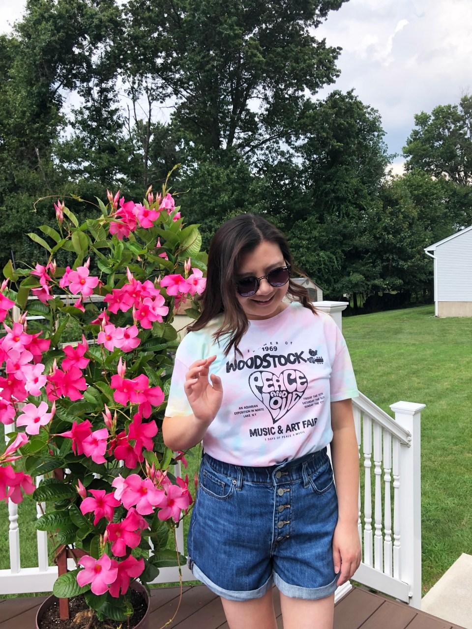 Woodstock Tie Dye Tee 5