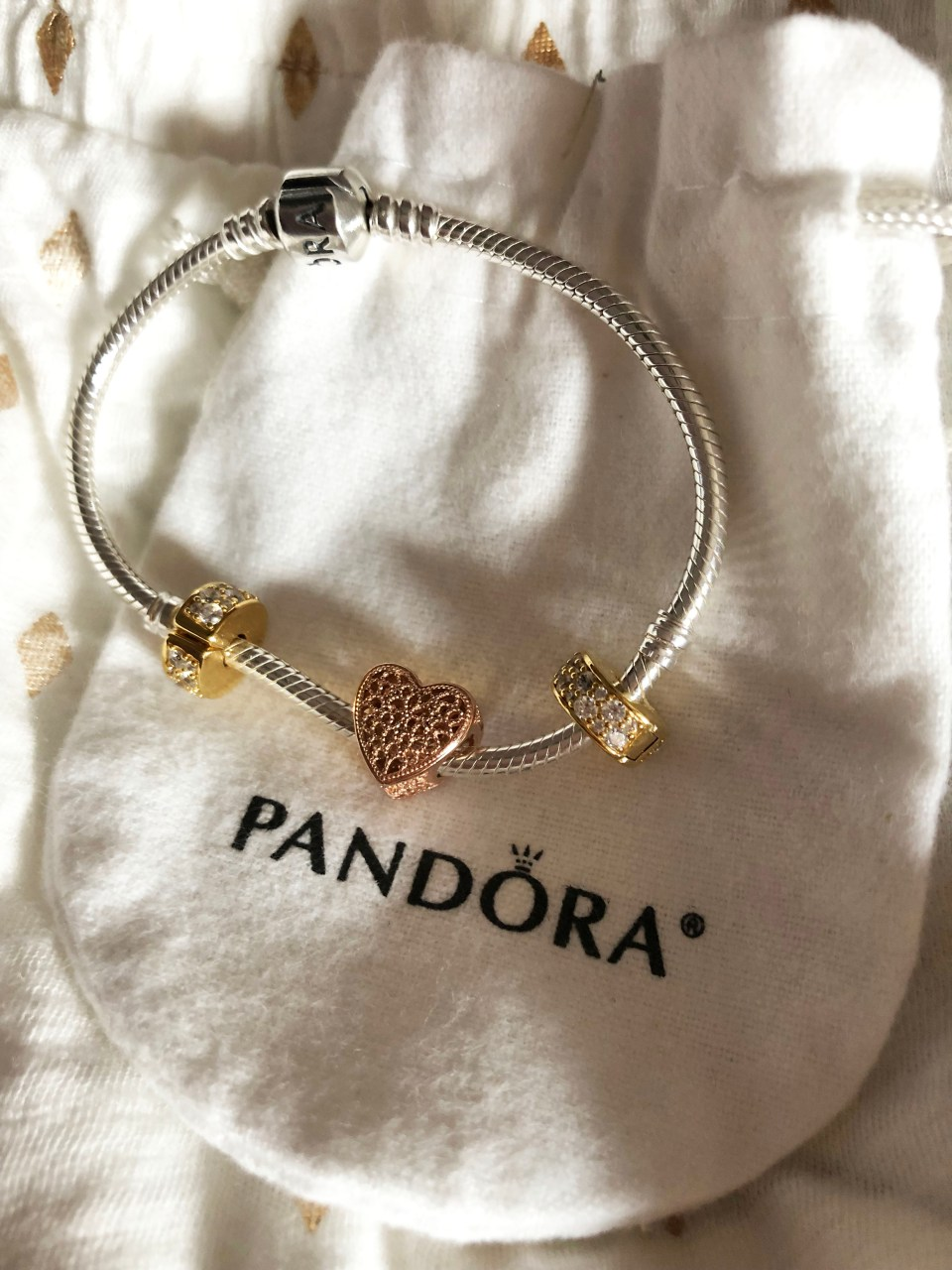 Pandora Bracelet - Filled with Romance Charm 1