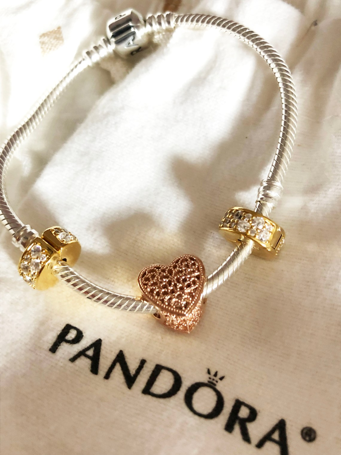 Pandora Bracelet - Filled with Romance Charm