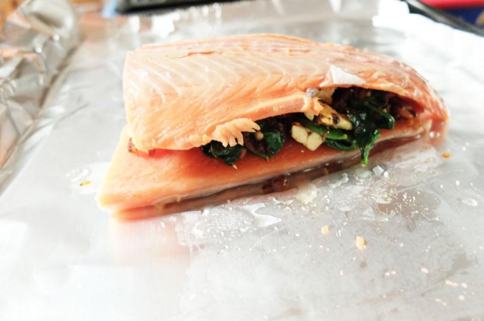Stuffed Salmon 7