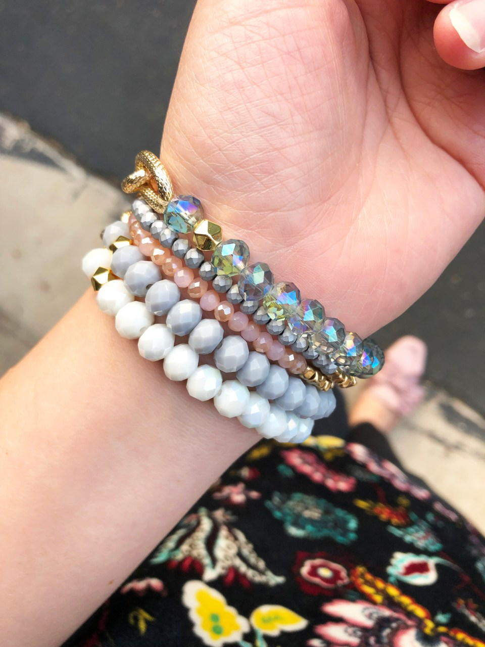 The Styled Collection - Beaded Bracelet Stack 6