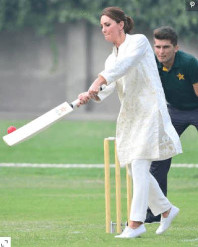 Kate Middleton - Cricket
