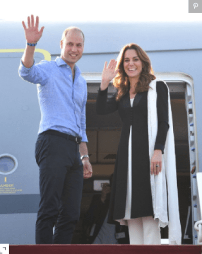 Kate Middleton - Leaving Pakistan
