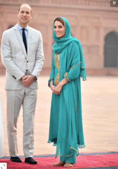 Kate Middleton - Mosque