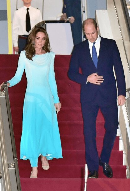 Kate Middleton - Ombre Outfit