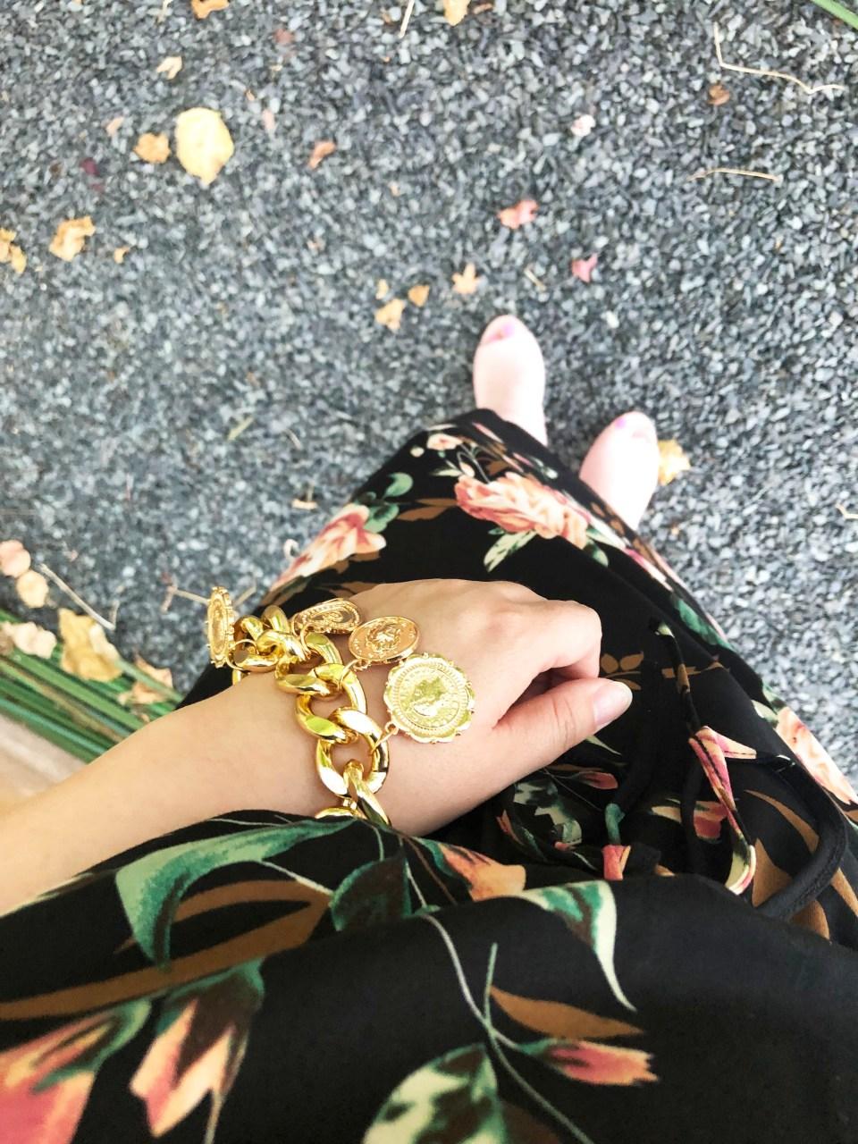 Large Floral Midi Dress 22
