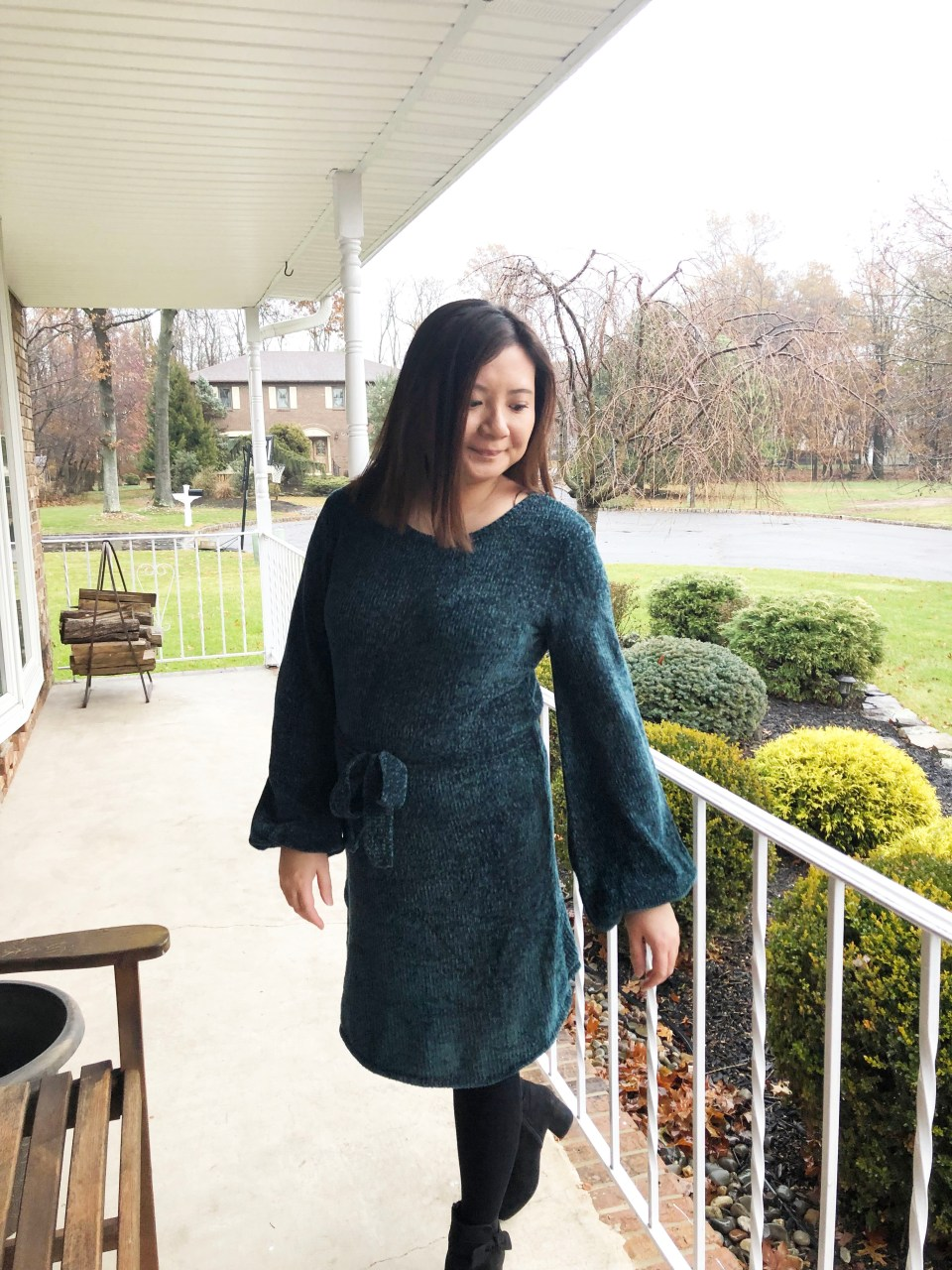 Chenille Sweater Dress 15
