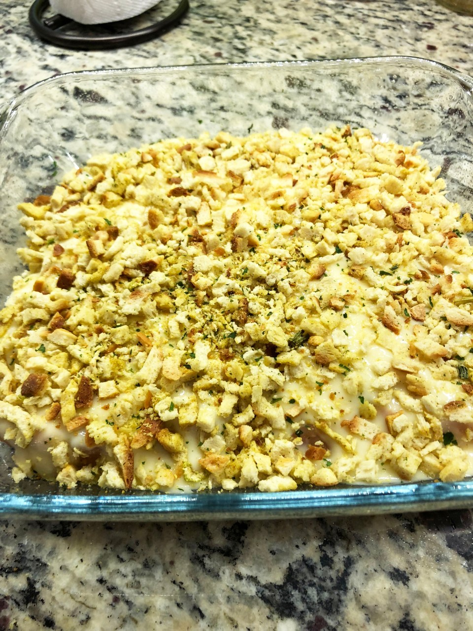 Chicken Stuffing Bake 5