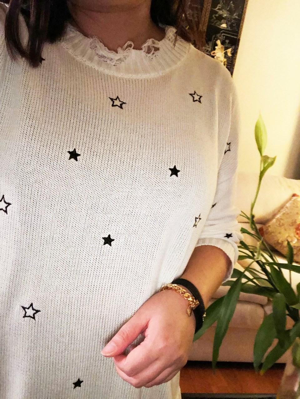 Distressed Star Sweater 14