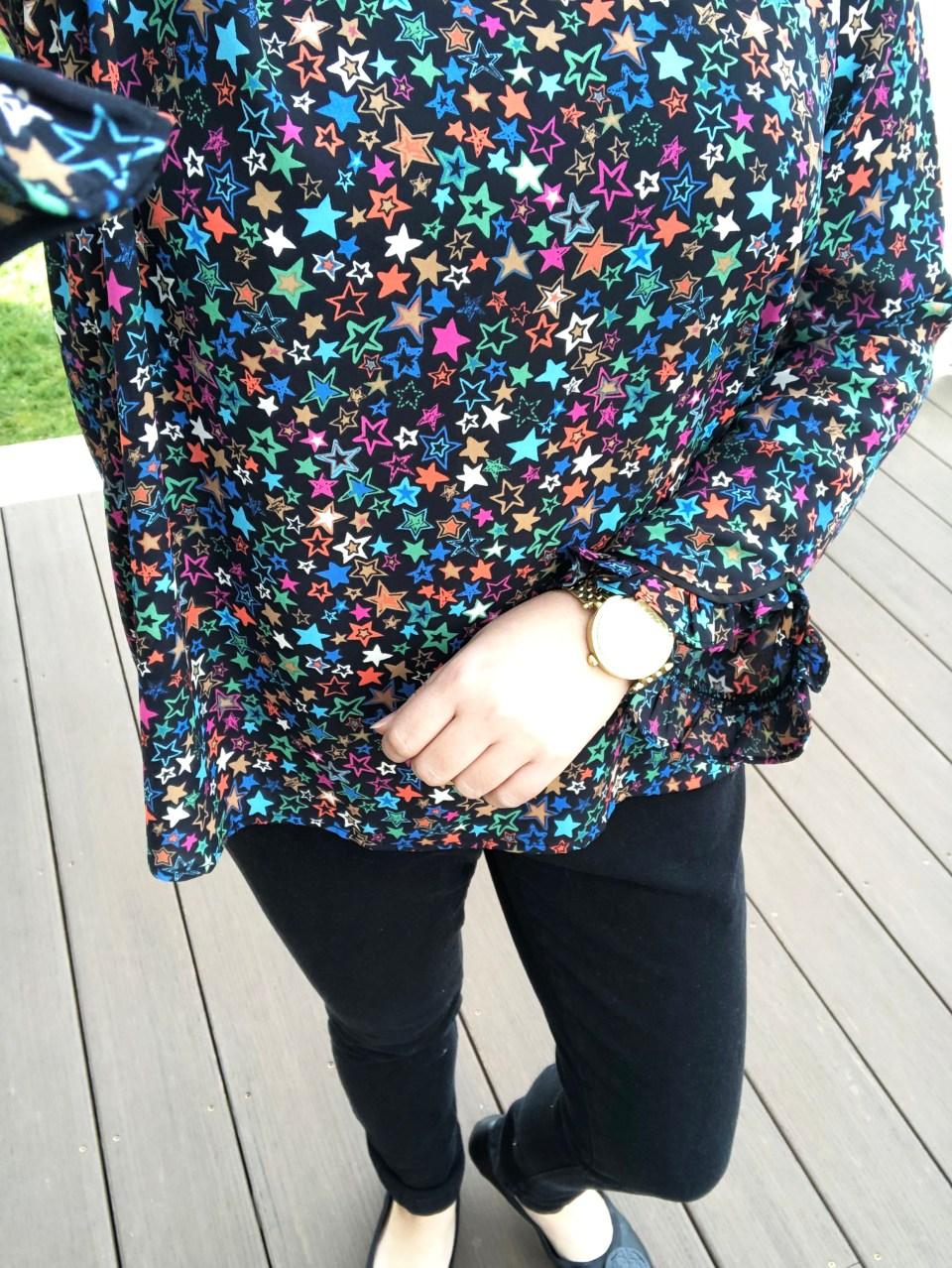 Multicolor Star Blouse 18