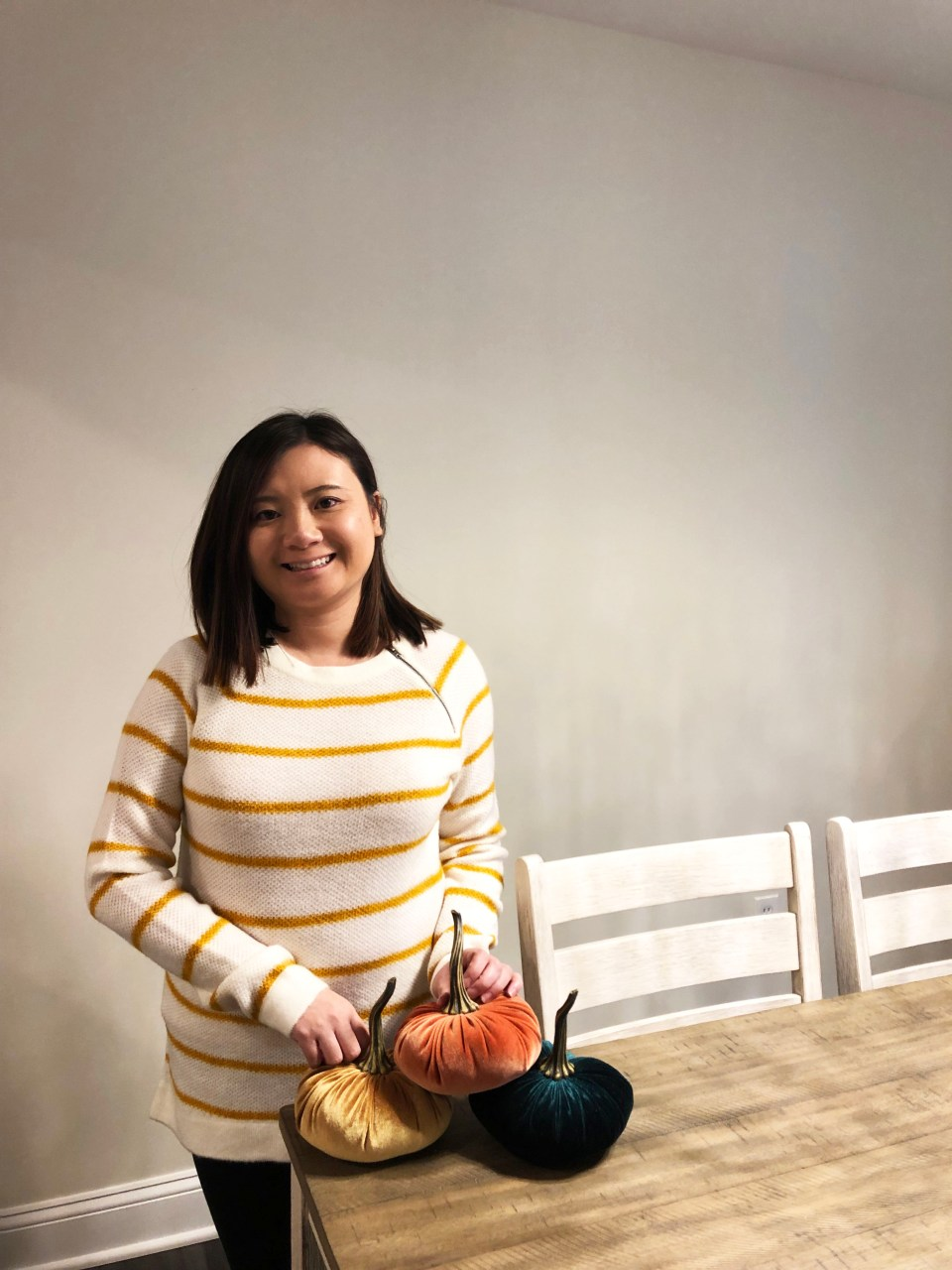 Mustard Stripe Sweater 2