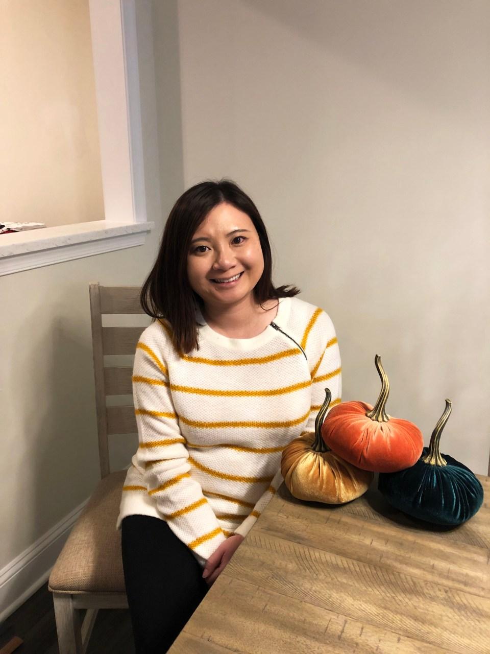 Mustard Stripe Sweater 8