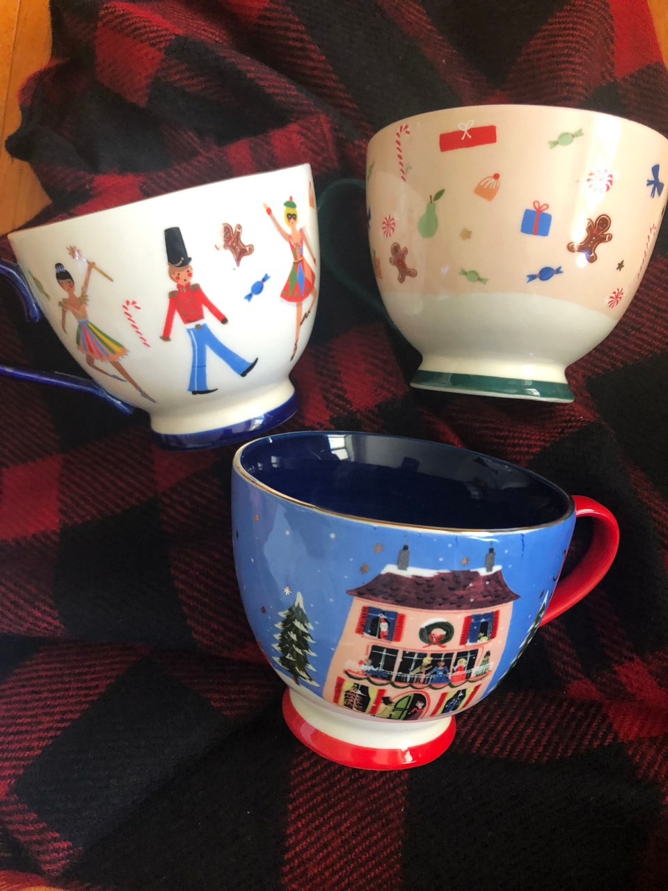 Nutcracker Christmas Mugs 4