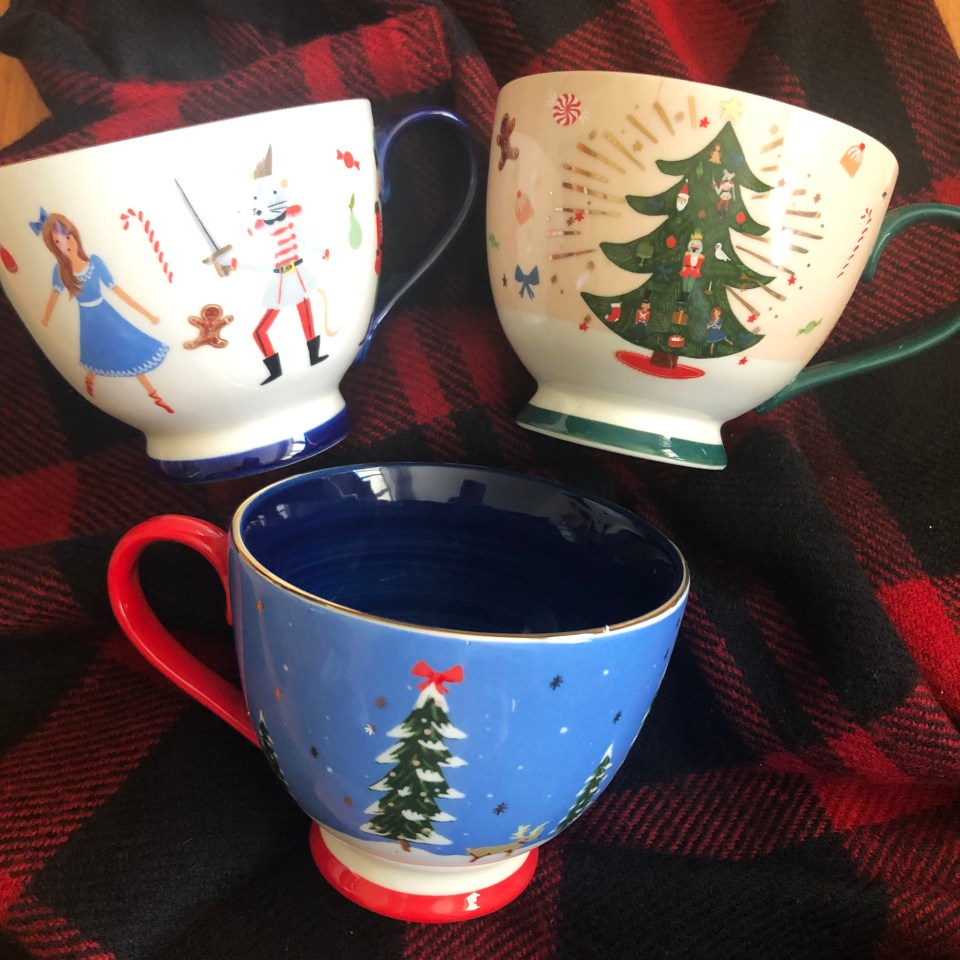 Nutcracker Christmas Mugs 5