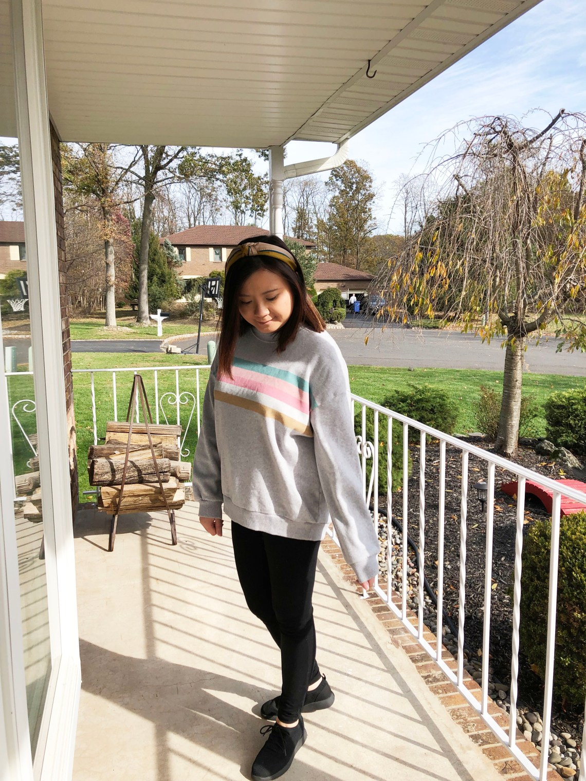 Pastel Striped Sweatshirt