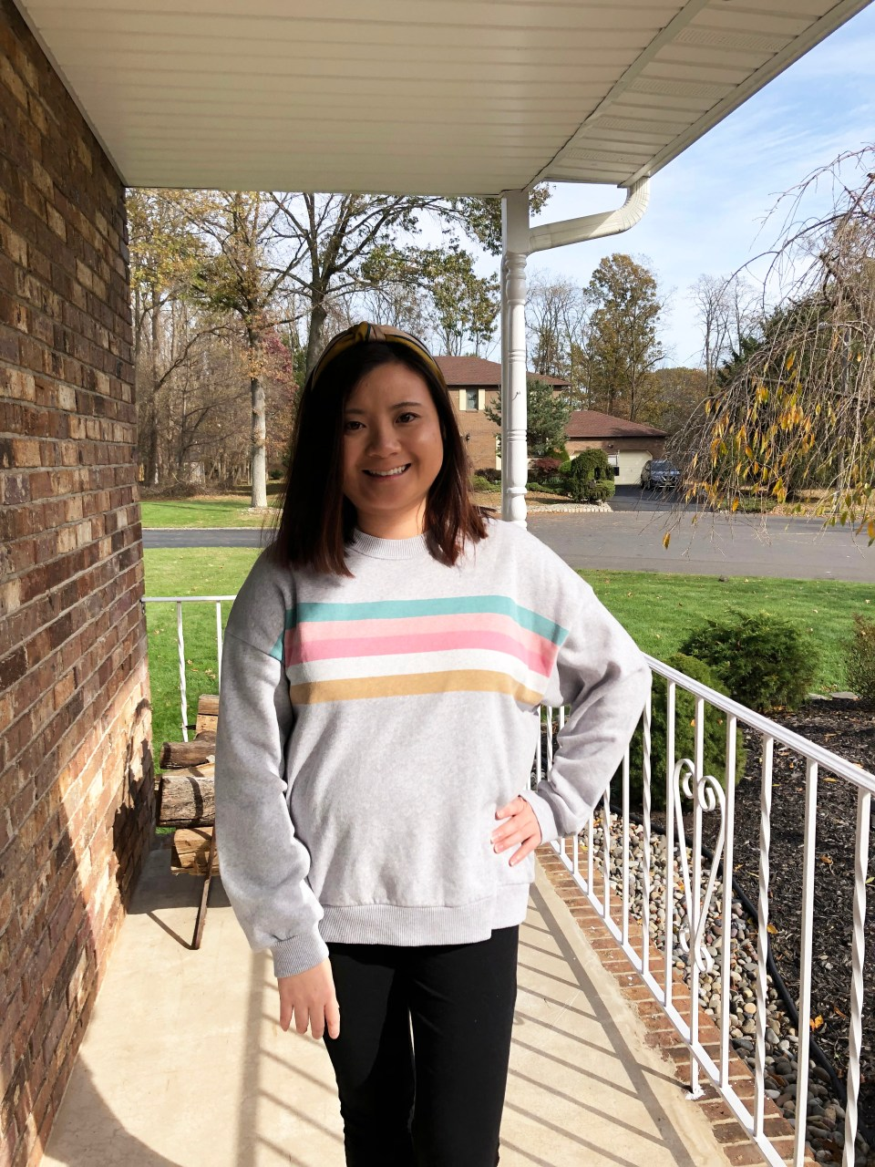 Pastel Striped Sweatshirt 12
