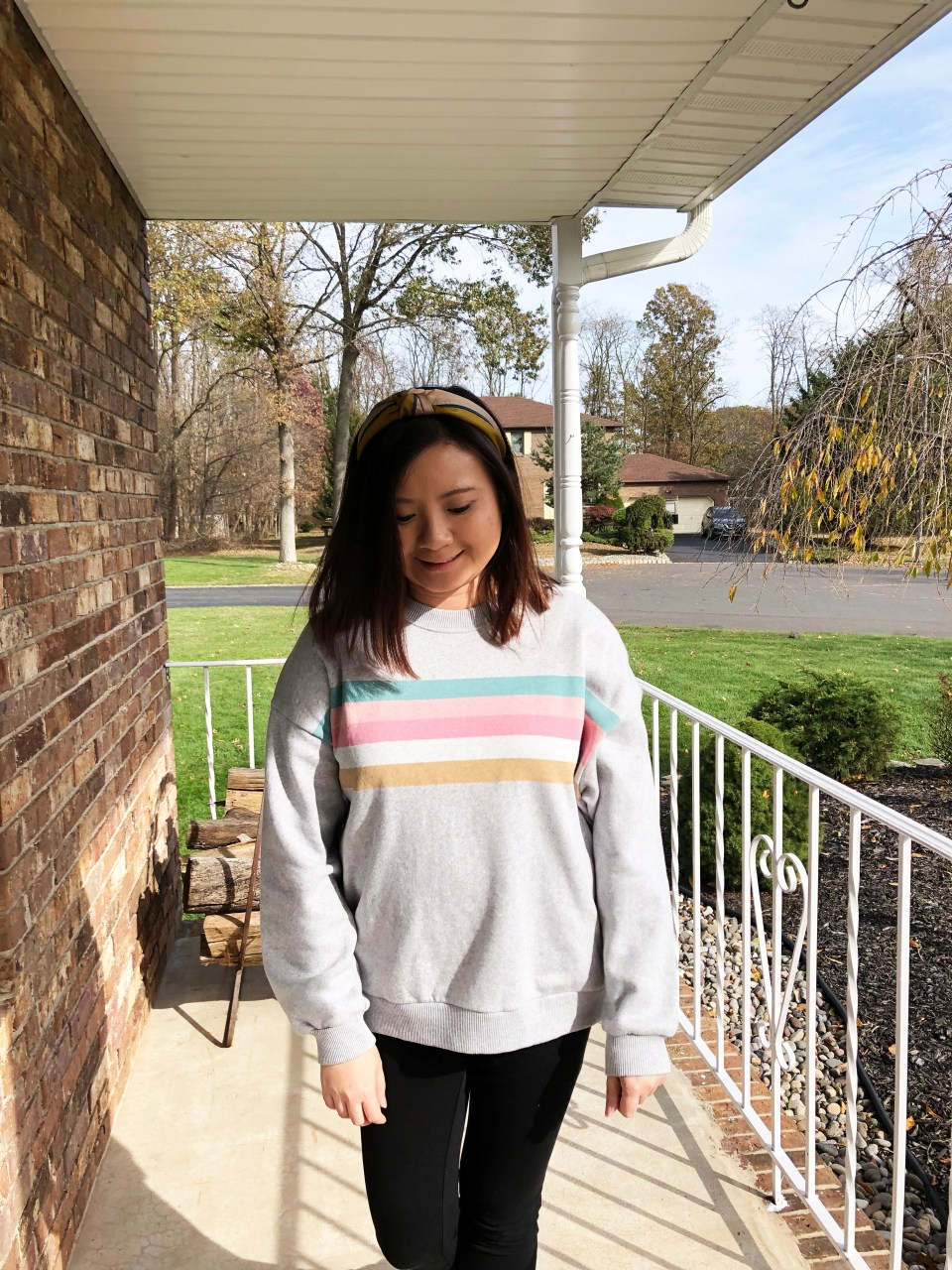 Pastel Striped Sweatshirt 16