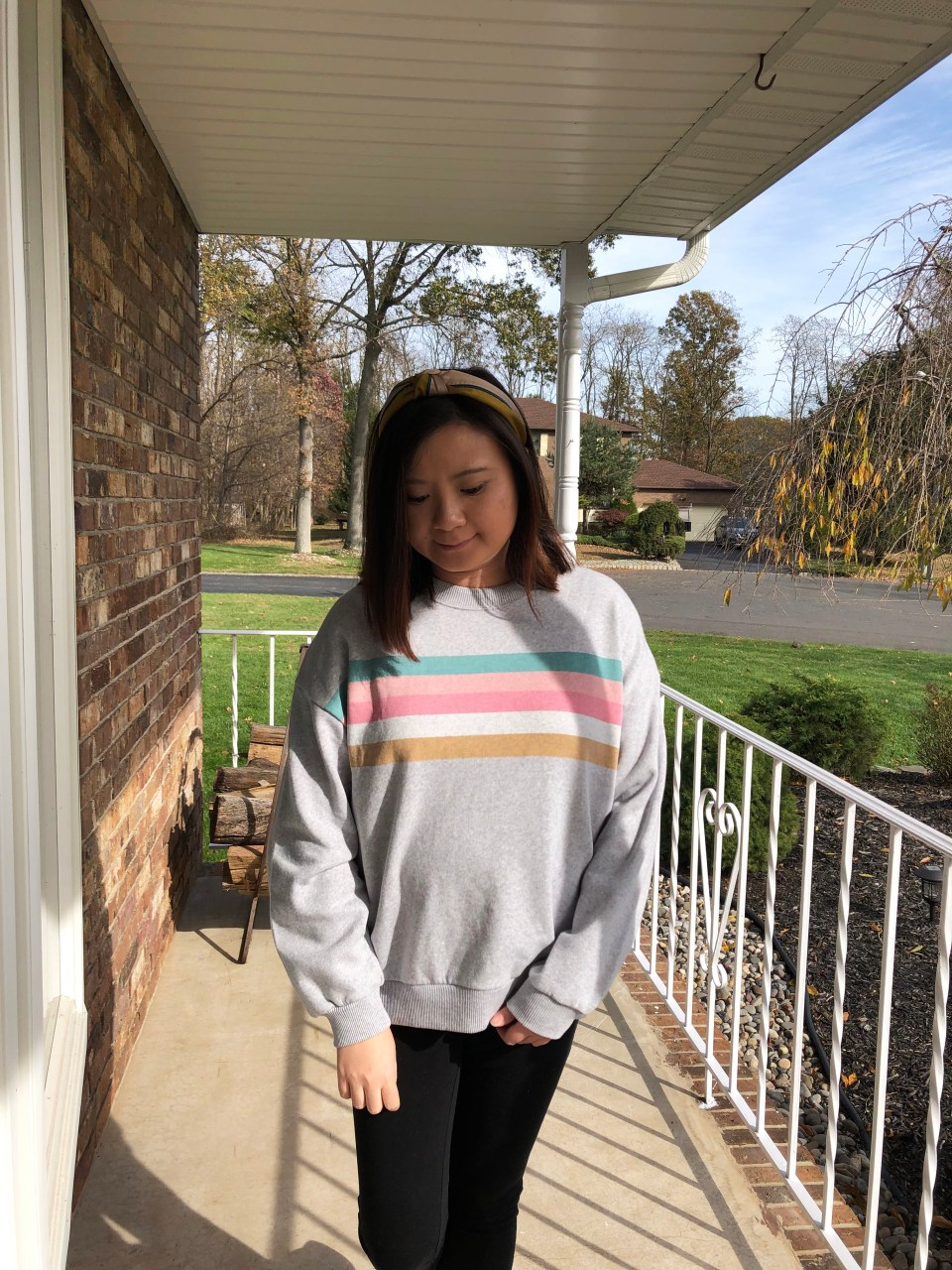 Pastel Striped Sweatshirt 4