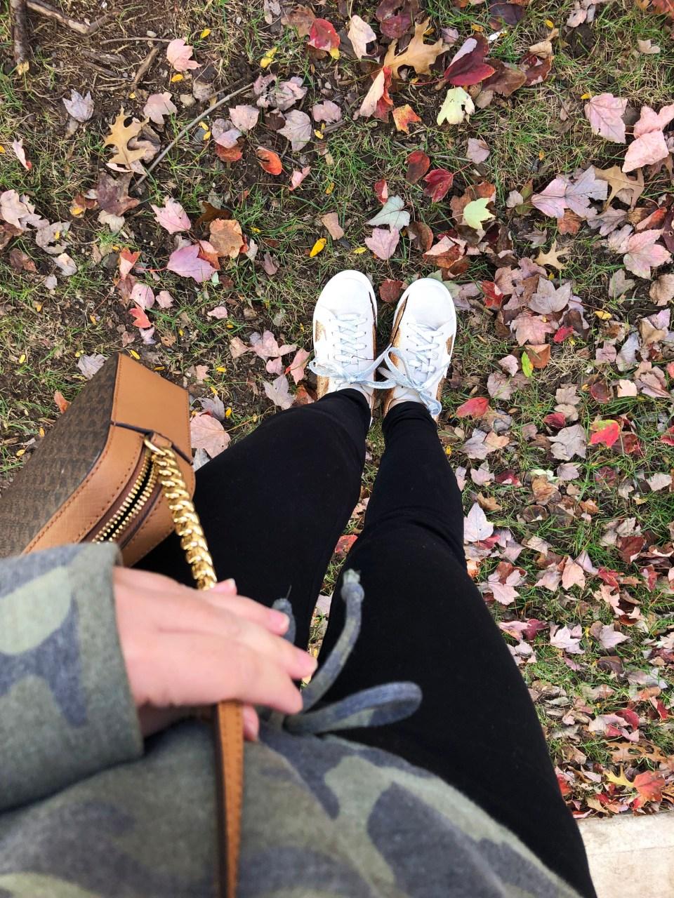 Rose Gold Star Sneakers 18