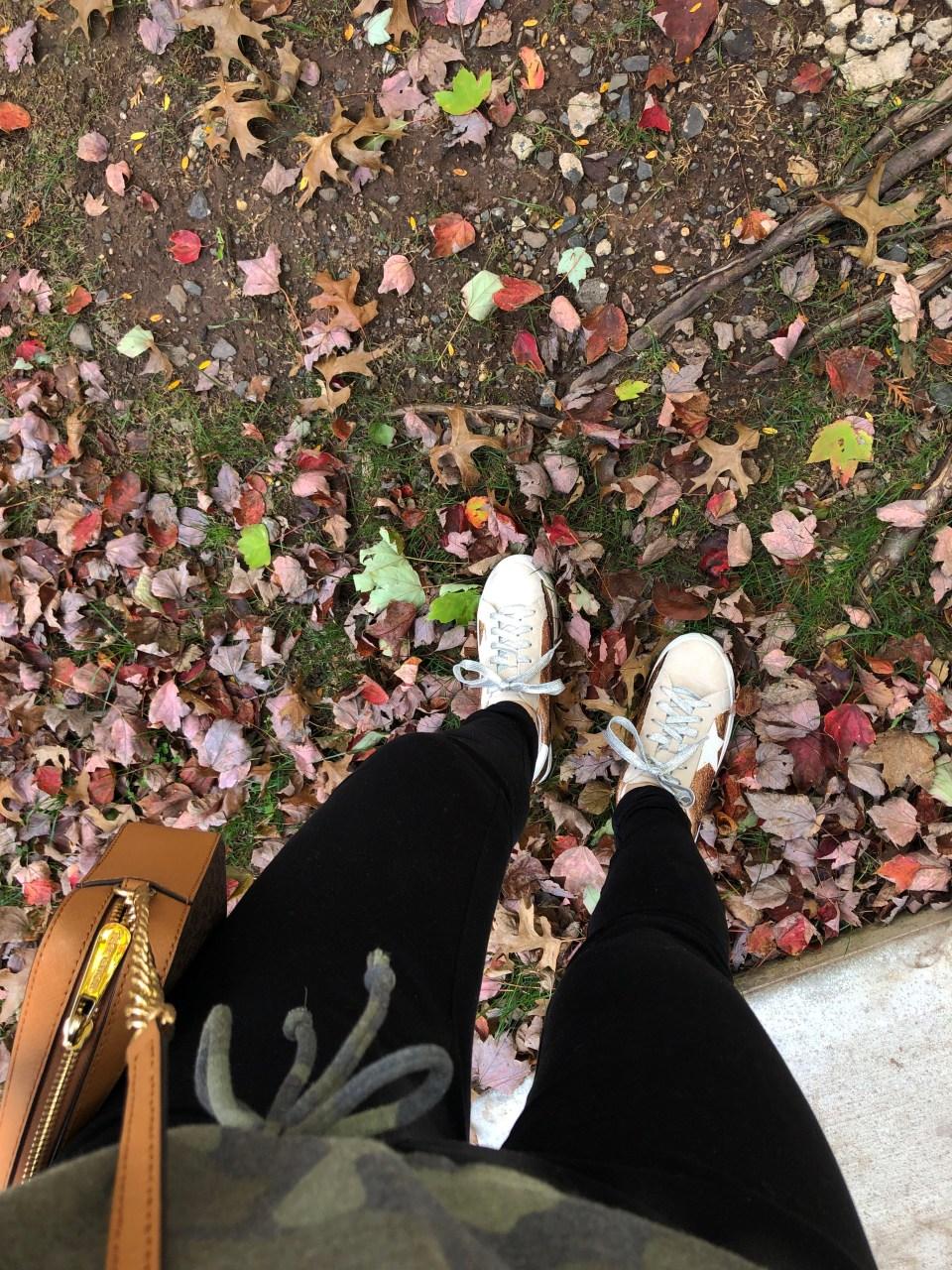 Rose Gold Star Sneakers 19