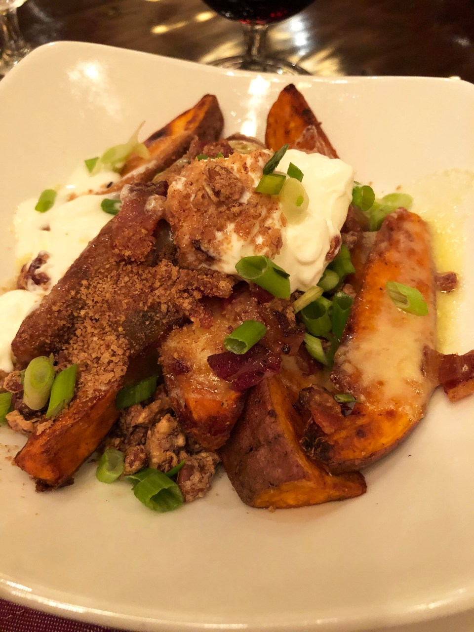 Harvest - Loaded Sweet Potato Wedges