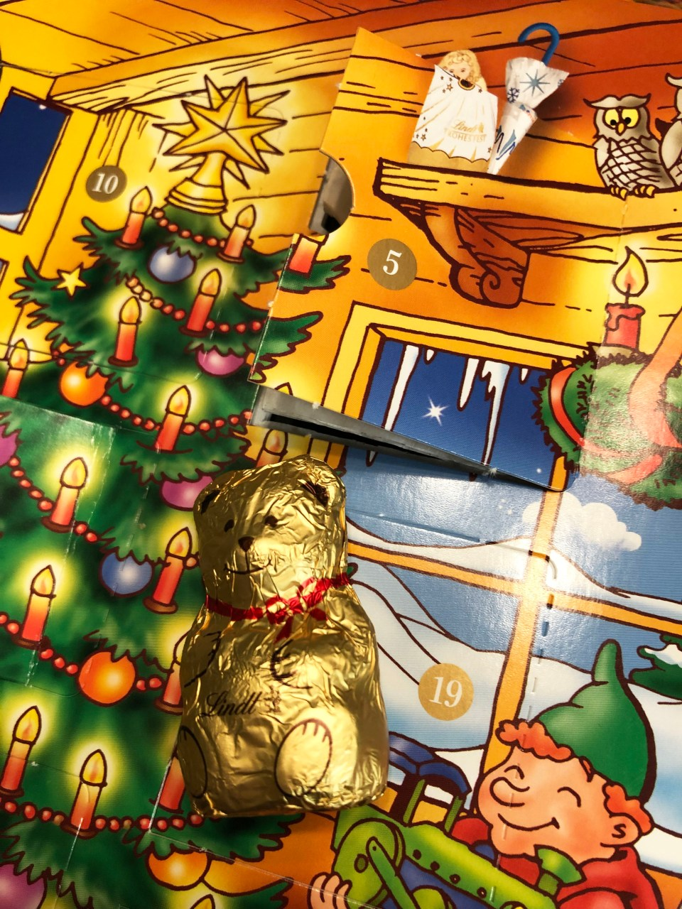 Lindt Advent Calendar - Bear