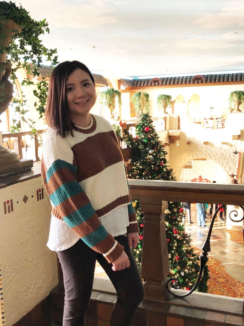 Mixed Stripe Boxy Sweater 12