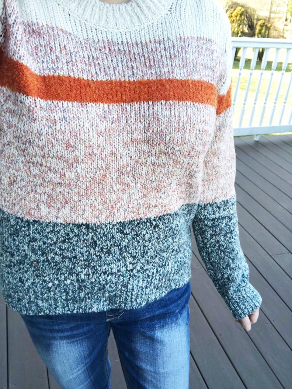 Orange & Grey Colorblock 16
