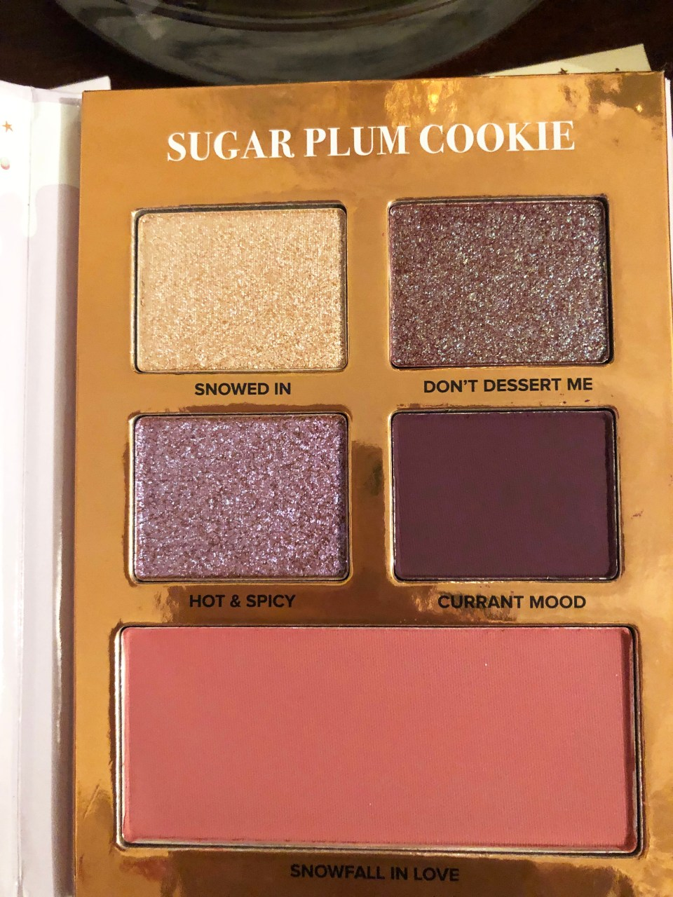 Too Faced Holiday - Gingerbread Lane 6