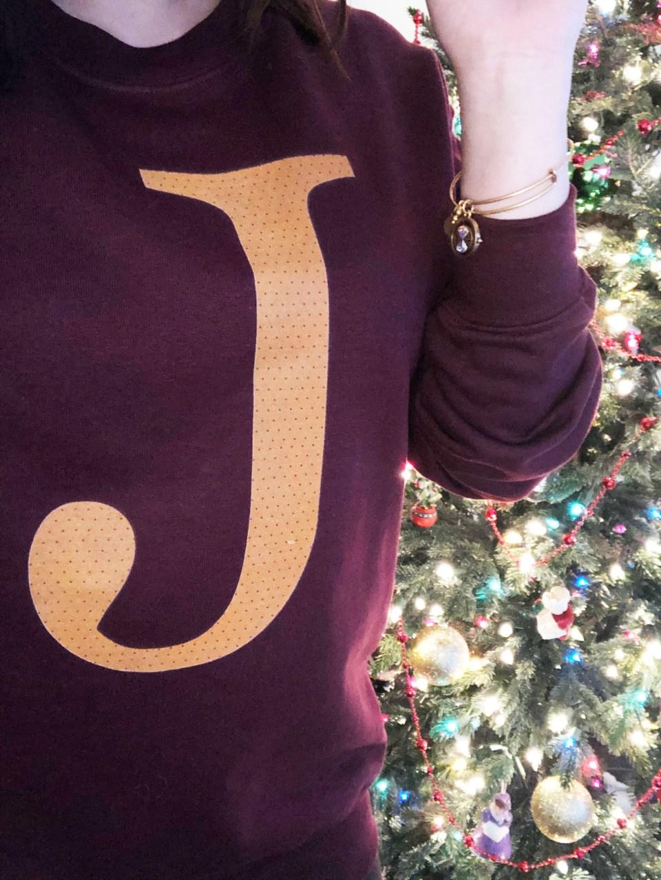 Weasley Sweatshirt + Time Turner Bracelet 8