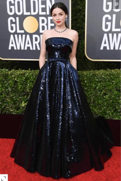 Ana de Armas - Golden Globes 2020
