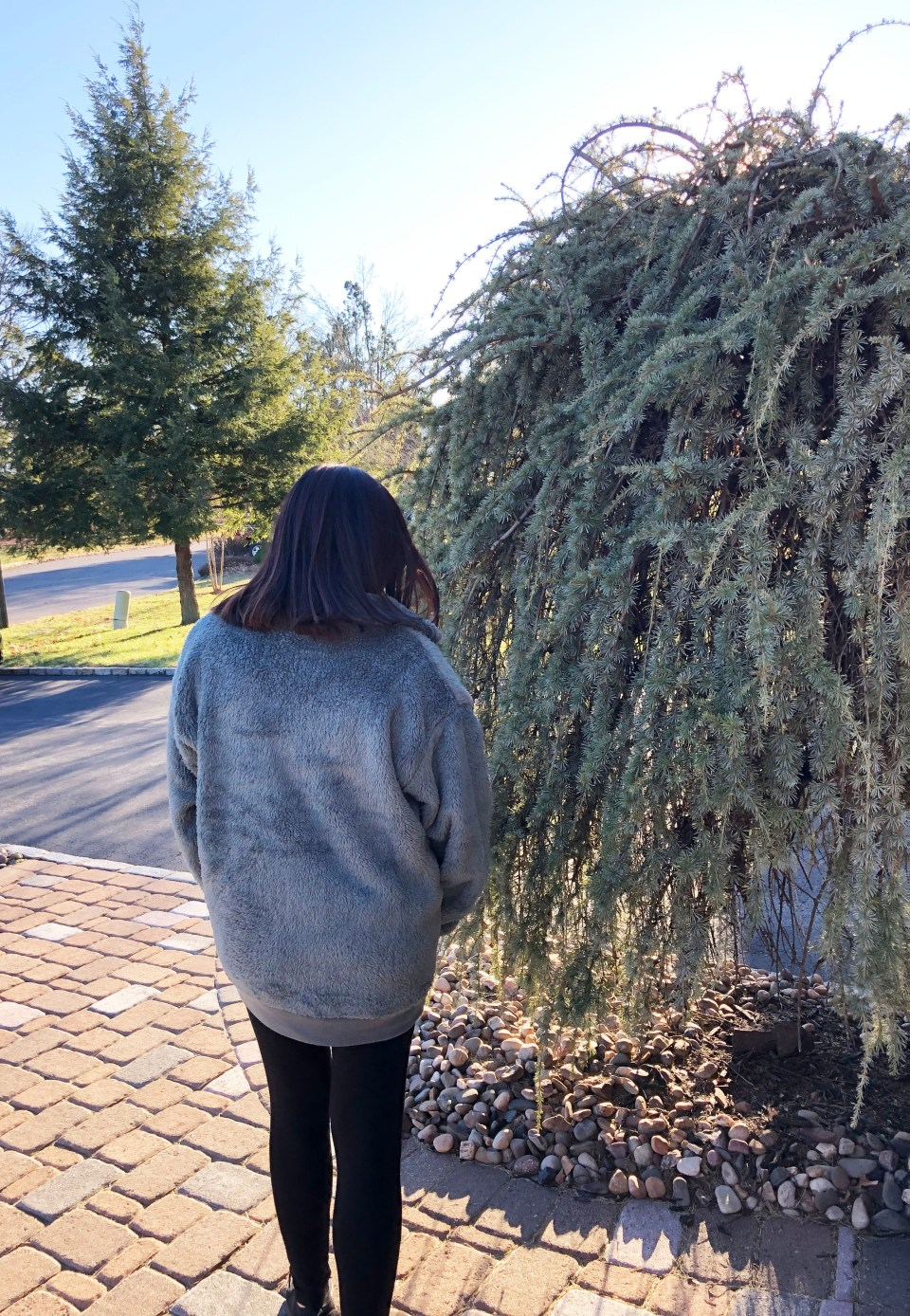 Dusty Sage Fleece Pullover 5