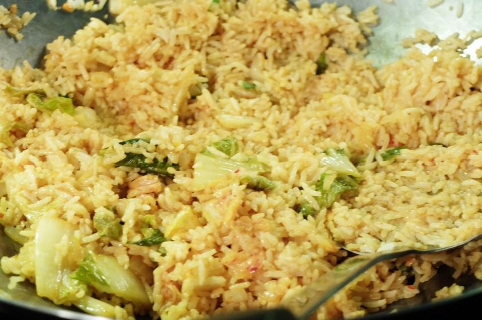 Kimchi Fried Rice 5