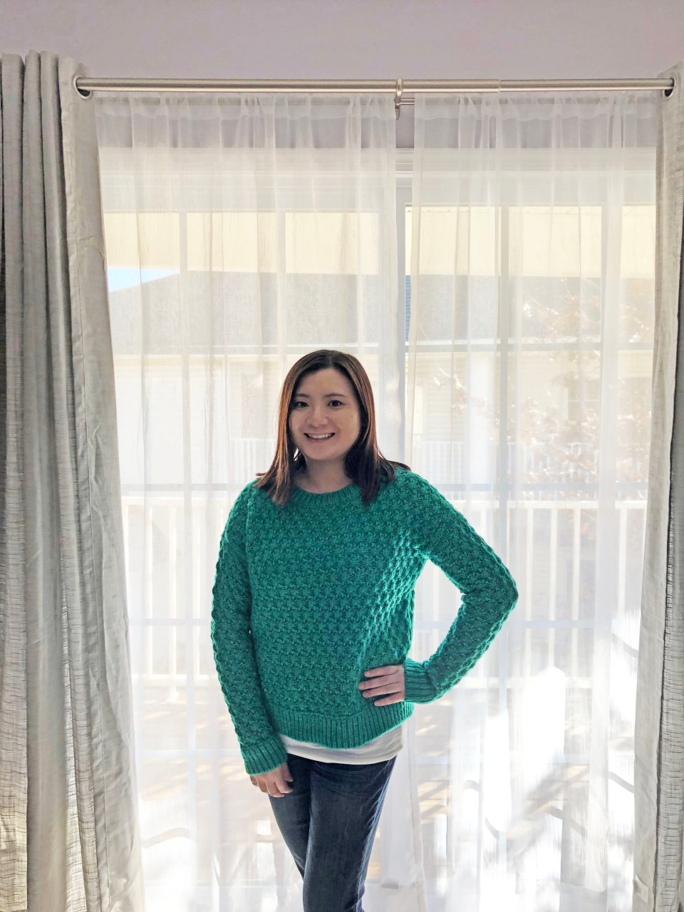 Piercing Emerald Bobble Stitch 13