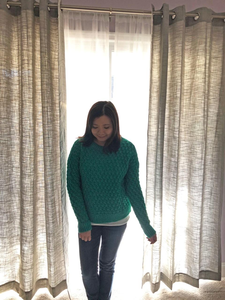 Piercing Emerald Bobble Stitch 5