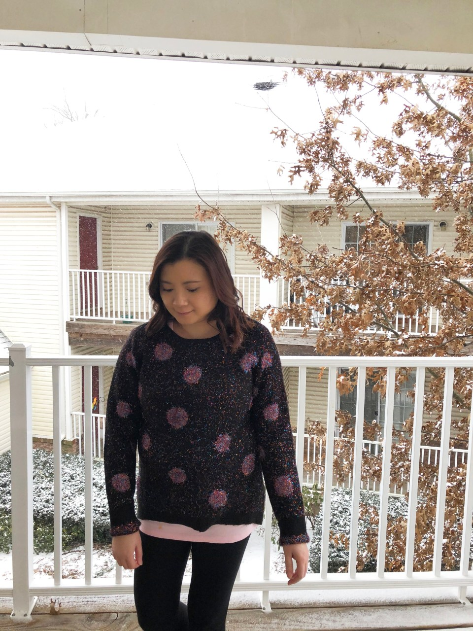 Sparkle Dot Sweater 11