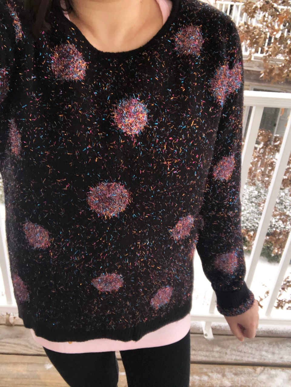 Sparkle Dot Sweater 12