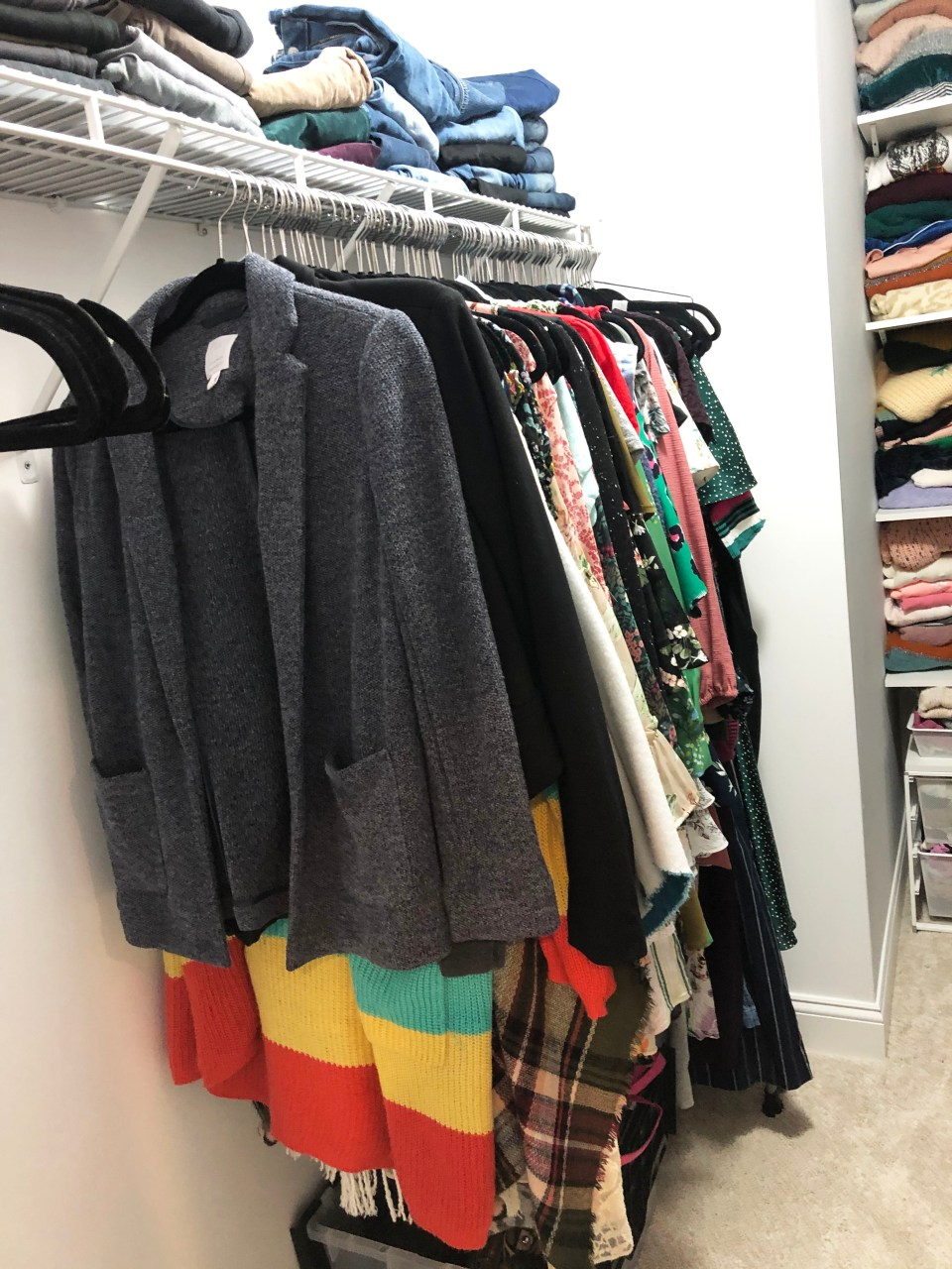 Walk-In Closet Renovation 18