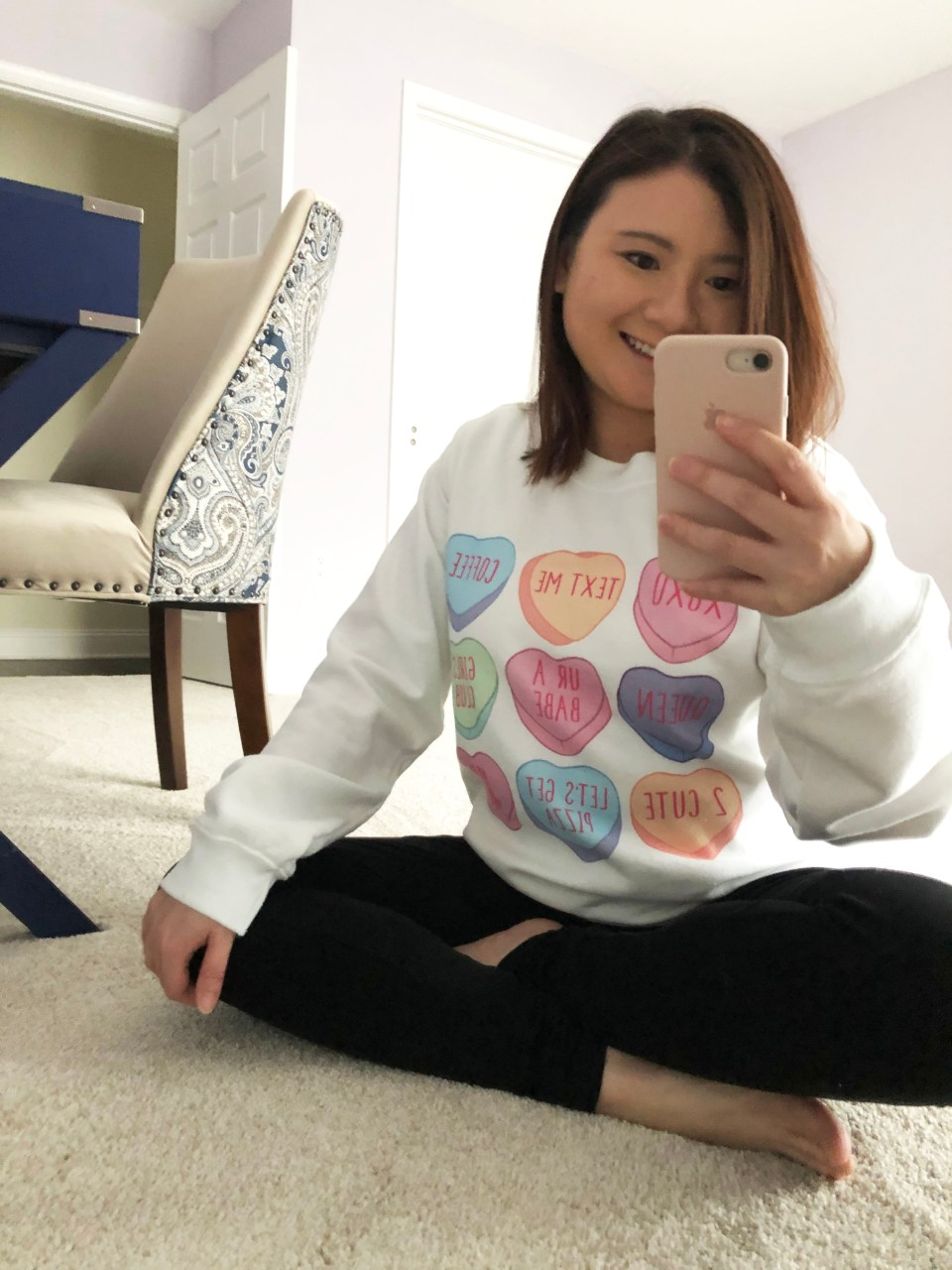 Candy Heart Sweatshirt